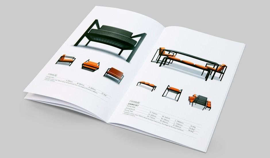 Mẫu catalogue thiết kế nội thất