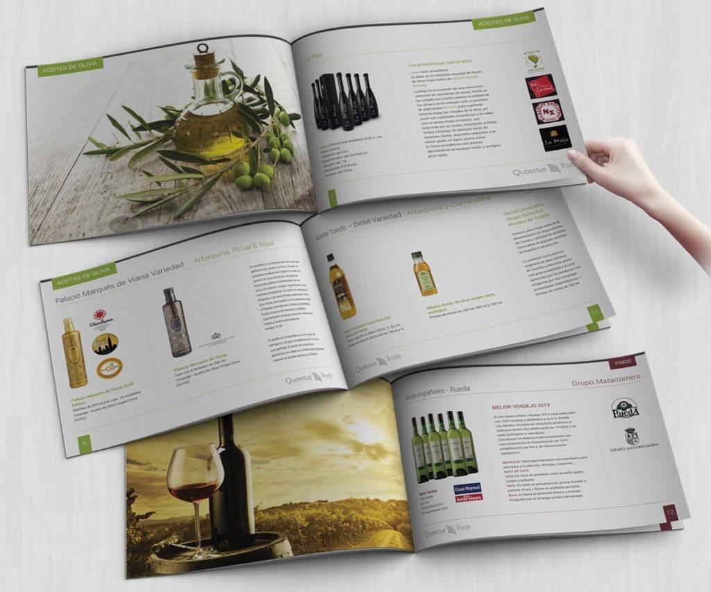 Mẫu catalogue về sản phẩm làm đẹp