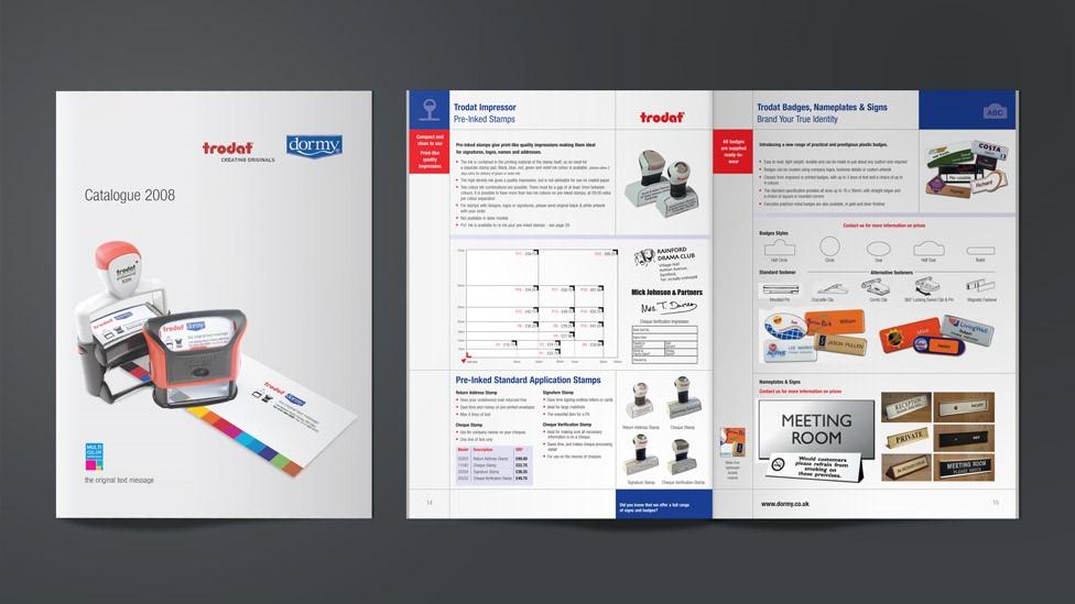 Mẫu thiết kế catalogue công nghiệp