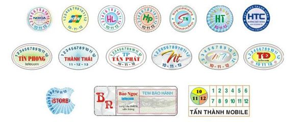 In tem vỡ giá rẻ TPHCM