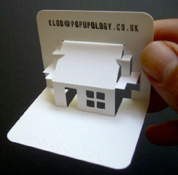 Thẻ treo 3D sáng tạo, độc đáo