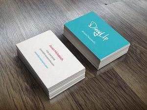 Mẫu name card giấy mỹ thuật