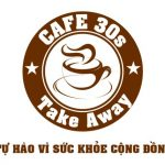 Mẫu tem cafe take way