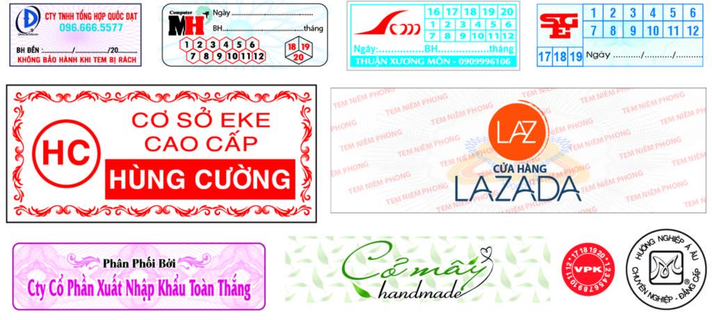 in tem niem phong my pham so luong it