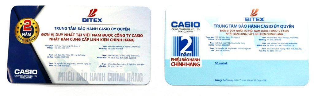 Thẻ bảo hành máy tính casino