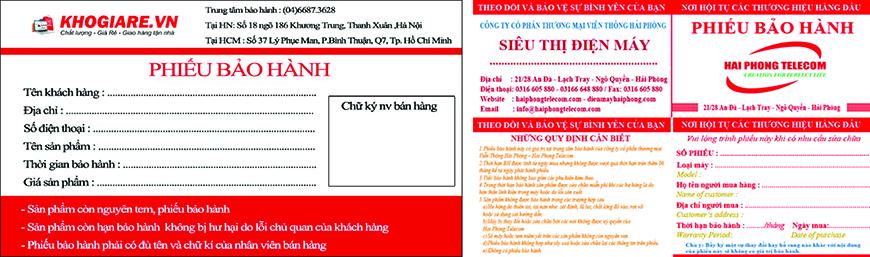 in phieu bao hanh gia re tai tphcm