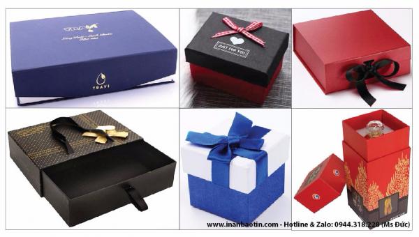 In hộp quà tặng giấy cứng