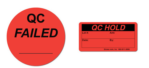 In tem QC Failed