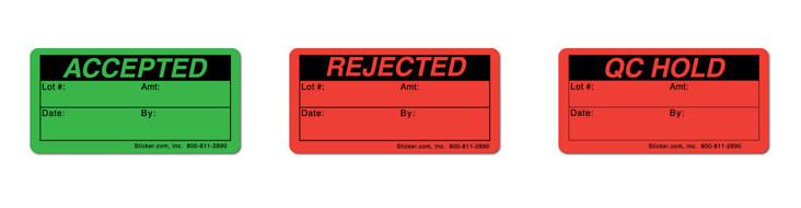In tem QC Rejected