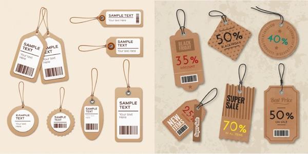 Tag giấy - nhãn mác phổ biến dùng trong thời trang hiện nay