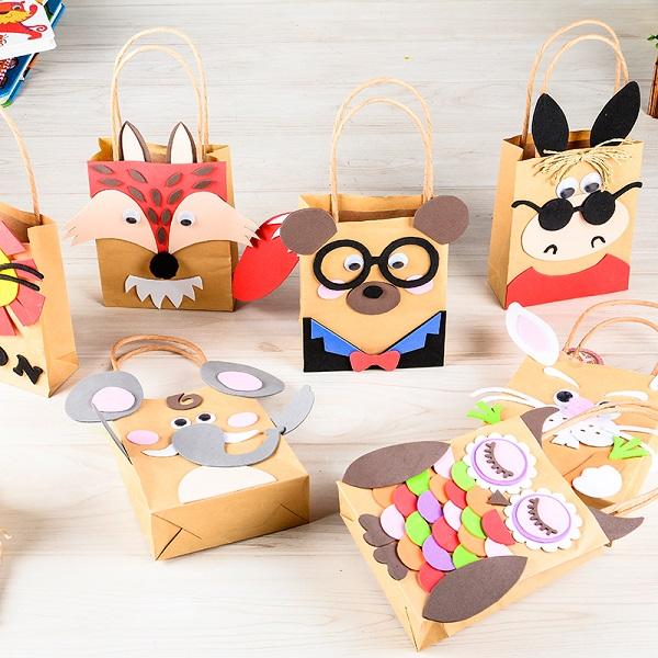 Cách làm túi giấy handmade đơn giản